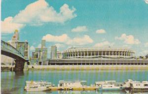 Riverfront Stadium Cincinnati Ohio 1971