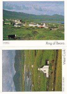 Ring Of Beara West Cork 2x Irish Postcard s