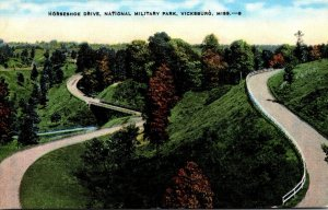 Mississippi Vicksburg Horseshoe Drive National Military Park
