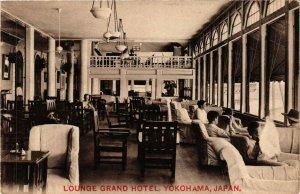 PC CPA YOKOHAMA Grand Hotel Lounge JAPAN (a8985)