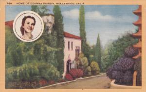 Home of Deanna Durbin, Hollywood, California, 30-40s