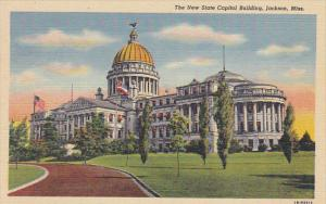 New State Capitol Building Jackson Mississippi Curteich