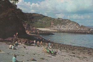 Fishcombe Coves Brixham Devon 1960s Rare Postcard