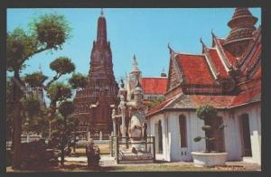 109141 THAILAND BANGKOK Wat Arun Temple of Dawn Old postcard