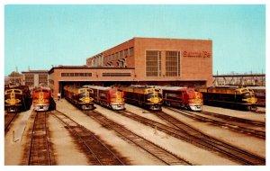 Sante Fe Railway , Kansas Argentine Diesel Shop
