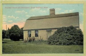 South Duxbury Massachusetts~Stardish House And Monument~1920s PC