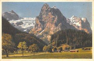Dossenhorn Wellhorn Wetterhorn Switzerland Unused