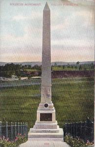 Pennsylvania Valley Forge Soldiers Monument