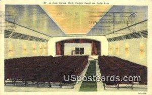 Convention Hall, Cedar Point - Lake Erie, Ohio