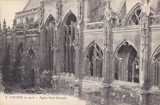 France Amiens Eglise Saint Germain
