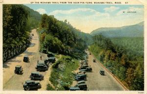 MA - Mohawk Trail. Hairpin Turn