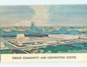 Unused Pre-1980 BUILDING Fresno California CA hn7053