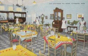 VICKSBURG , Mississippi , 1930-40s; Old Southern Tea Room