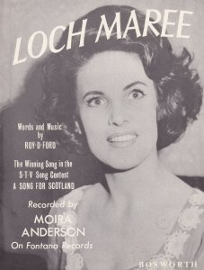 Loch Maree Moira Anderson A Song For Scotland Old Scottish Sheet Music