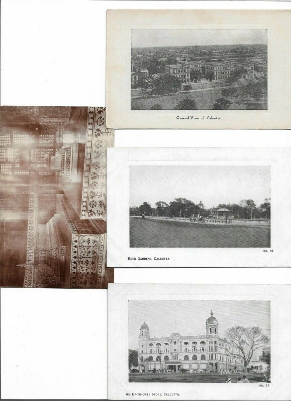 India Vintage Postcard Lot of 13  01.16