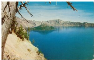 Postcard - Crater Lake Discovered by John Wesley Hillman, Oregon
