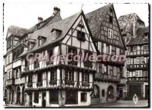 Modern Postcard Colmar Old Houses Alsatian