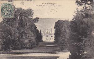 France La Champagne Boursalt Le Chateau et le Parc 1907