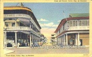 Front Street, Colon Republic of Panama Panama 1941