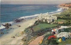 Santa Monica CA~Oxnard~Malibu Enginal~Coastline~Palatial Home 1940 Union Oil #41
