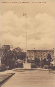 Connecticut Naugatuck The Memorial To World War Veterans Albertype