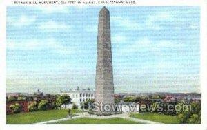 Bunker Hill Monument - Charlestown, Massachusetts MA