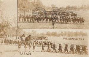 RP; ST LOUIS , Missouri , 1918 ; Troops on parade