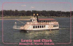 BISMARCK , North Dakota , 50-60s ; Lewis & Clark River Boat