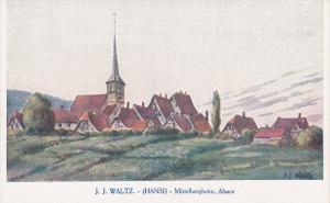 J. J. Waltz, HANSI, Mittelbergheim, ALSACE, France, 00-10s