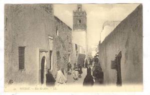 TUNIS, Rue El-Mar, Tunisia, 00-10s