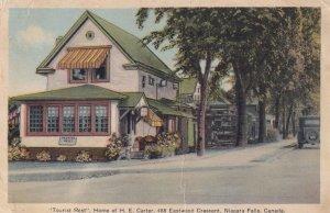NIAGARA FALLS, Ontario, Canada, 1900-1910's; Tourist Rest, Home Of H.E. Carter