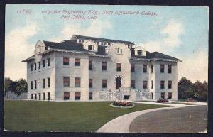 Irrigation Engineering College Bldg Ft Collins CO used c1913