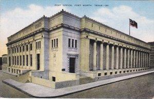 Post Office , FORT WORTH , Texas , PU-1954