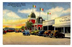 Mexico - Juarez. Corner of Juarez Avenue & 16th of September Street