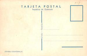 Guatemala, Central America, Republica de Guatemala Joyabaj  Joyabaj