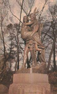 Minneapolis MN, Minnesota - Minnehaha and Hiawatha Statue
