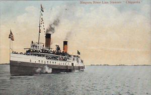 Canada Niagara River Line Steamer Chippewa