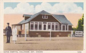 CALLANDER, Ontario, Canada; Dafoe Hospital, 30-40s
