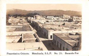 Matehuala SLP Mexico Birds Eye View Real Photo Vintage Postcard JJ658807