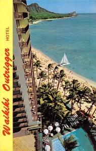 Hawaii, Honolulu, Waikiki Outrigger, Hotel, beach, swimming pool