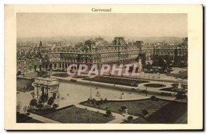 Postcard Old Carousel