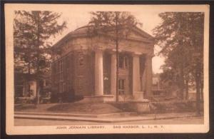 John Jermain Library, Sag Harbor, Long Island, N.Y. 1922
