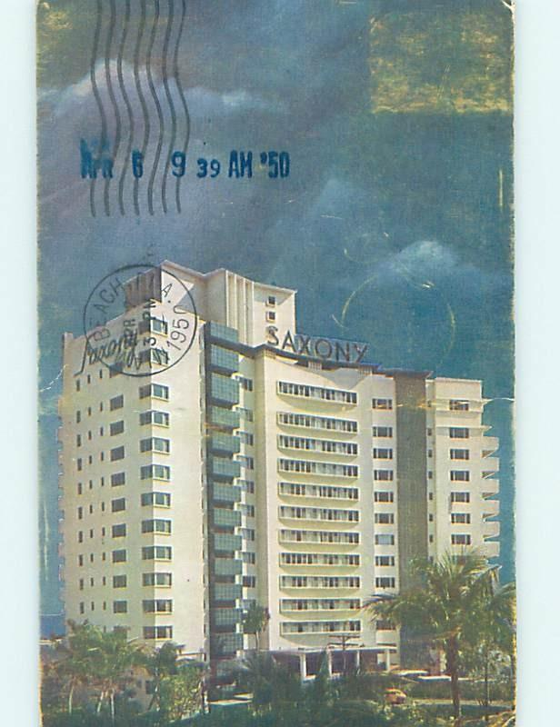 1940 S Saxony Hotel Miami Beach Florida Fl B3945