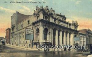 Willis Wood Theatre Kansas City MO 1912