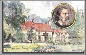 Tuck's Oilette Alfred Lord Tennyson Postcard