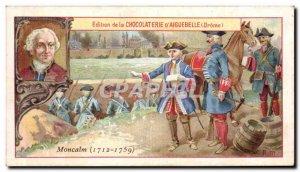 Chromo Edition of the Chocolate D & # 39Aiguebelle (Drome) 1712 1759 Montcalm...