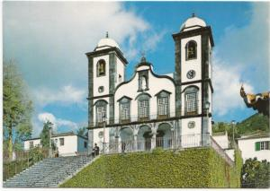 Portugal, MONTE, Madeira, Igreja do Monte, Church of Monte, unused Postcard