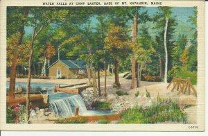 Waterfalls at Camp Baxter, Base of Mt. Katahdin, Maine