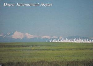 Colorado Denver International Airport Showing Jeppesen Terminal 1999