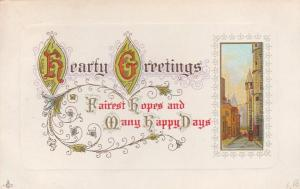 Hearty Greetings and Fairest Hopes from Homer NY, New York - pm 1912 - DB